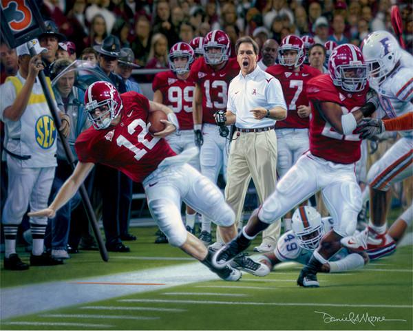 Champions - Canvas Editions - Alabama Football 2009 SEC Champions