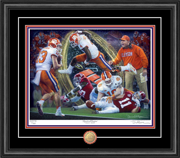 Legends & Champions - Giclée Editions (Clemson Football 2016 National Champions)