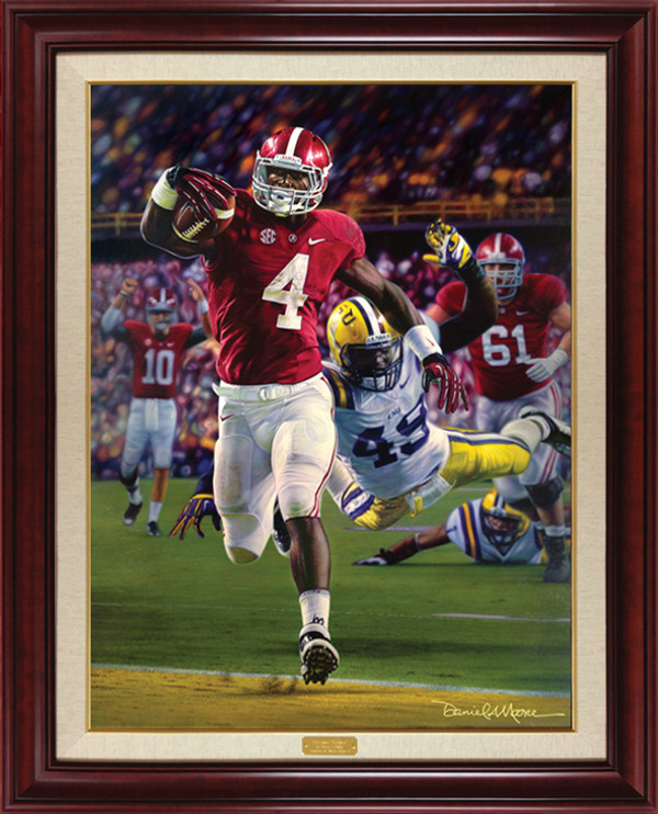 Death Valley Drive - Canvas Editions - Alabama Football vs. LSU 2012