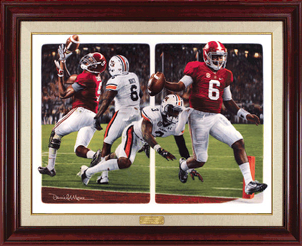 The Game Changers - Canvas Editions - Alabama Football vs. Auburn 2014