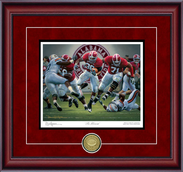 The Blowout - Collegiate Classic 8x10 - Alabama Football vs. Auburn 2008
