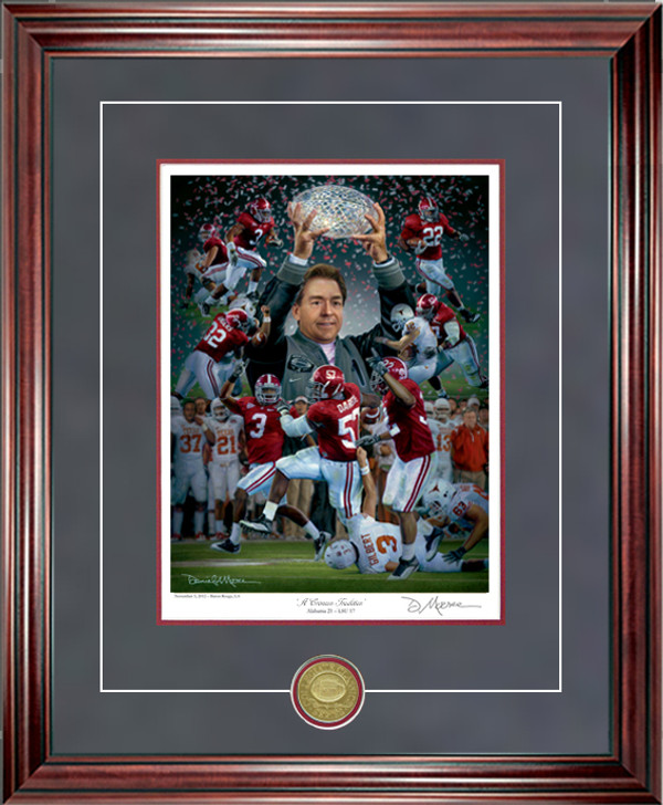 A Crimson Tradition - Collegiate Classic 8x10 - Alabama Football 2009 National Champions