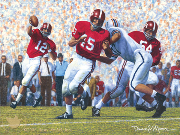 Iron Bowl 1962 - Alabama Football vs. Auburn