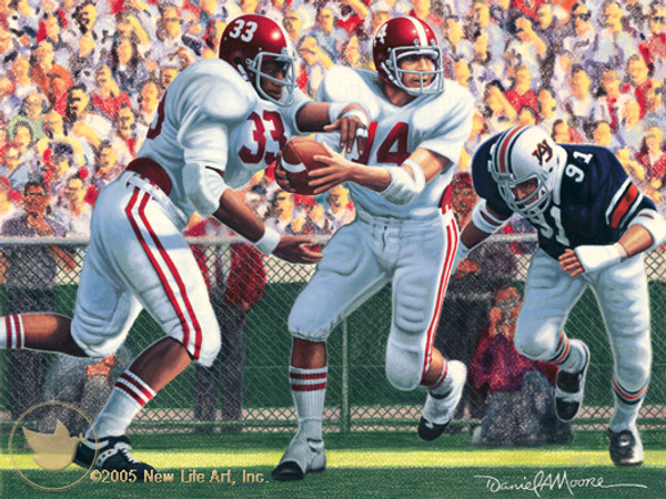 Iron Bowl 1975 - Alabama Football vs. Auburn