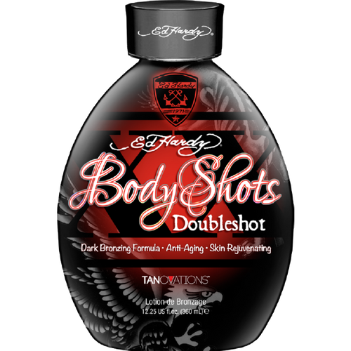Ed Hardy Upgrade To Black Triple Black Bronzer Tanning Lotion