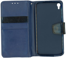 Alcatel Idol 3 5.5  MM Executive Wallet Navy