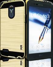 LG Stylo 3 MM Slim Dura Metal Gold