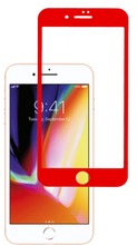 Iphone 7 PLUS/8 PLUS 5D Tempered Glass  Red