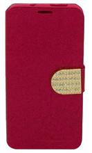 Kyocera Hydro Wave Glitter Bling Wallet Red