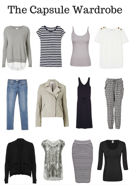 The capsule wardrobe - living with less