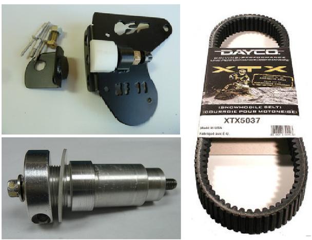 TD Procross 1100 turbo Belt durability upgrade kit