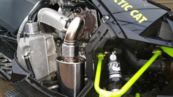 2017 2018 Turbo Dynamics TurboForce 2.5 exhaust system for Thundercat Sidewinder ZR9000 turbo