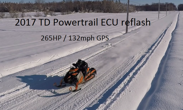 2017 2018 2019  Powertrail 270HP ECU reflash for Sidewinder SRX and ZR9000 / Thundercat