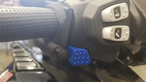TD flasher/copitrail instant map switching button