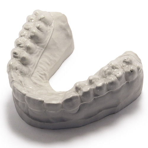 ultra thin custom guard for day time teeth grinding