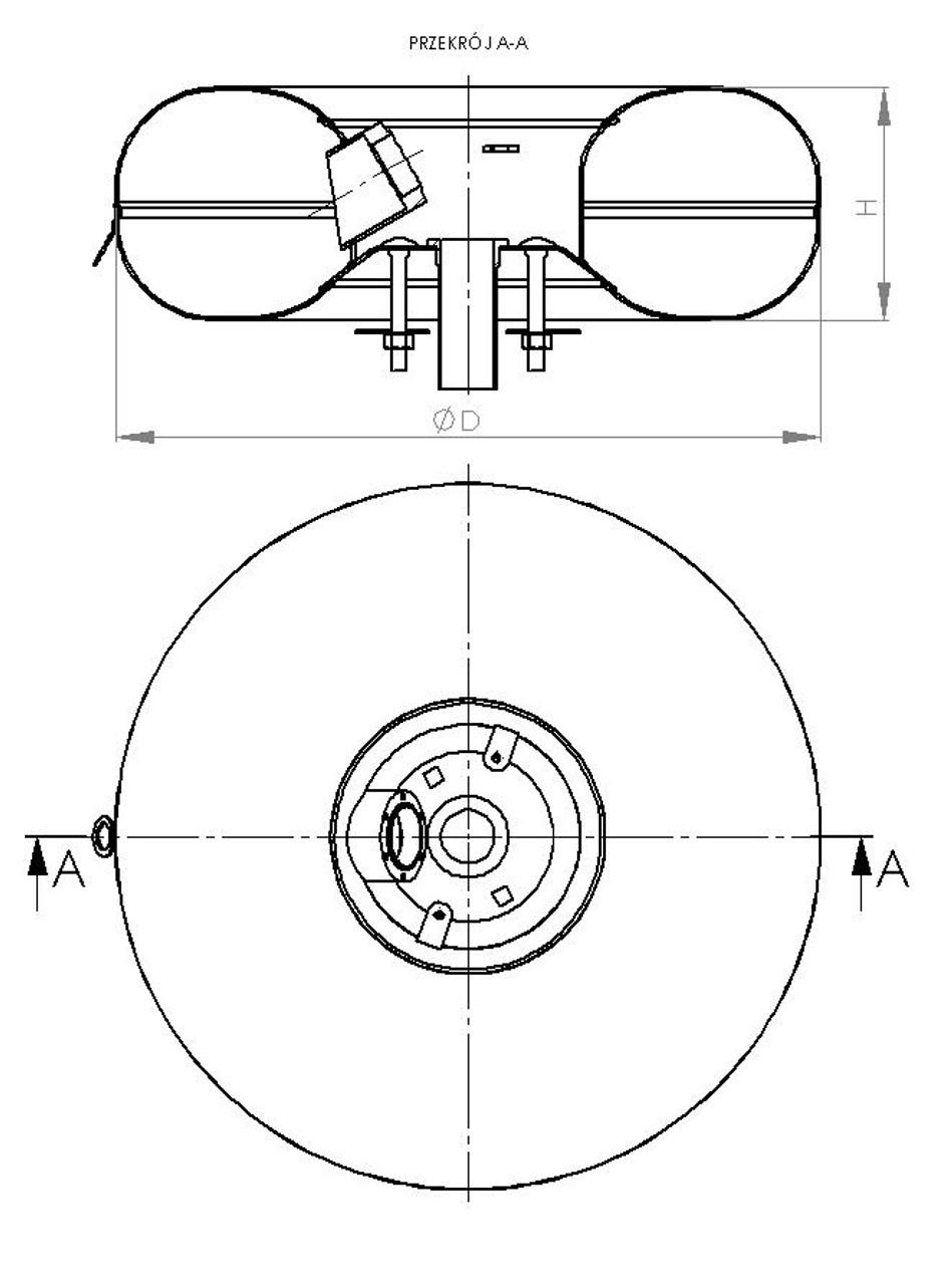 Polmocon 680 270 77 5litres 0degrees Full Toroidial Internal Tank
