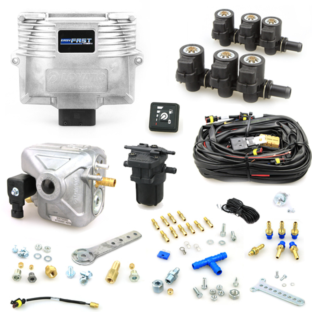 6 cylinder autogas kit lovato fast c obdii rh lpgshop co uk Wiring Diagram Symbols 3-Way Switch Wiring Diagram