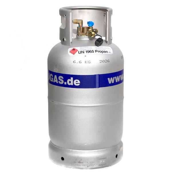 aluminium refillable propane butane gas bottle 27 liters 11kg. Black Bedroom Furniture Sets. Home Design Ideas
