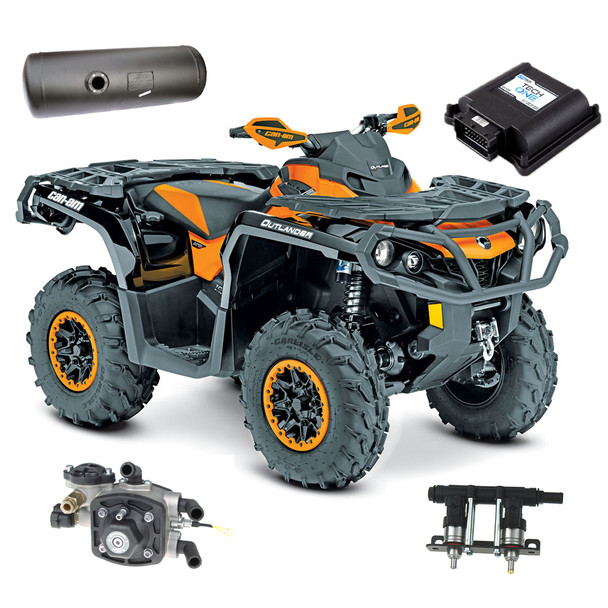All-terrain ATV, Quad bikes autogas, LPG, propane conversion kit