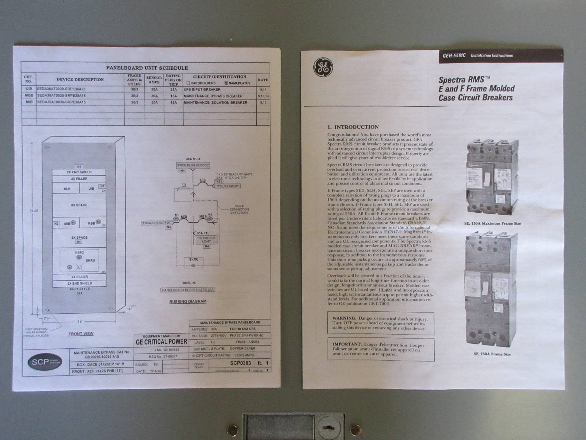 Ge Spectra New Scp Plus Ups Maintenance Bypass Panelboard 30 Amp Mlo Wiring Diagram Https D3d71ba2asa5ozcloudfrontnet 12014161 Images Tk2697