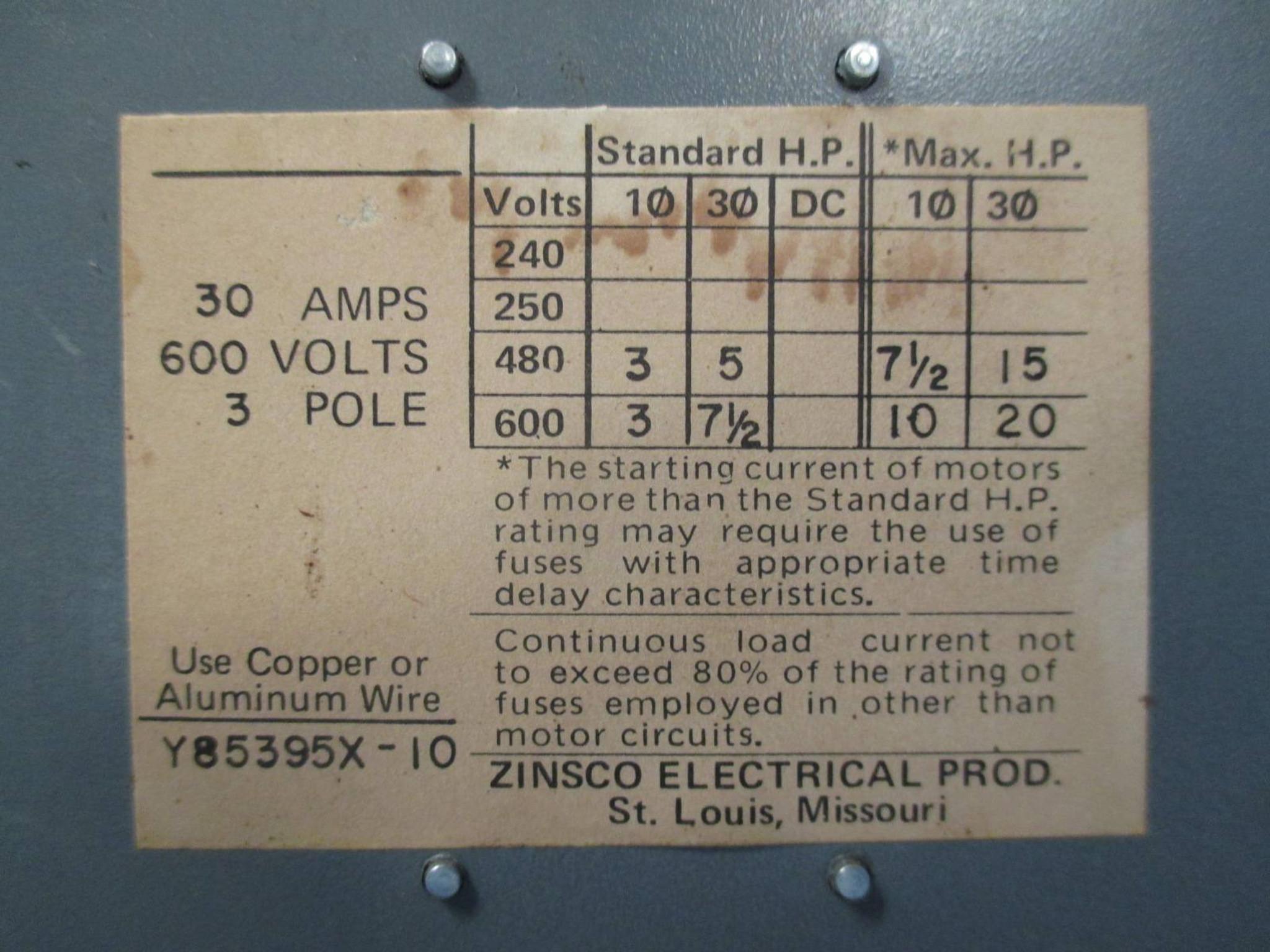 Zinsco Qsf Unit 30 Amp 600v Qsft353b Fusible Panelboard Switch Qsft Fuse Box Https D3d71ba2asa5ozcloudfrontnet 12014161 Images Tk0431