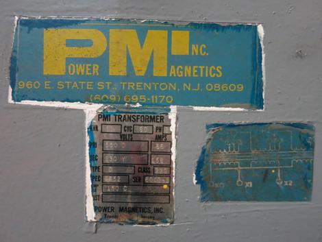 Power Magnetics 63 Kva 550 Delta To 230y Spec 4452 3 Phase