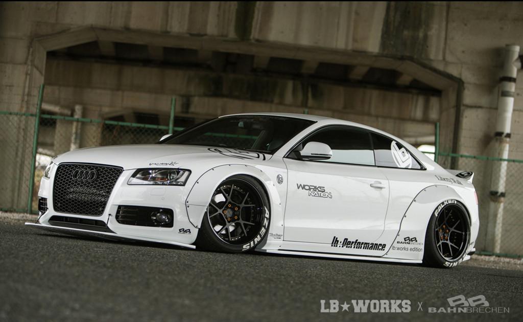 Audi A5 S5 Liberty Walk Stance Body Kit Meduza Design Ltd