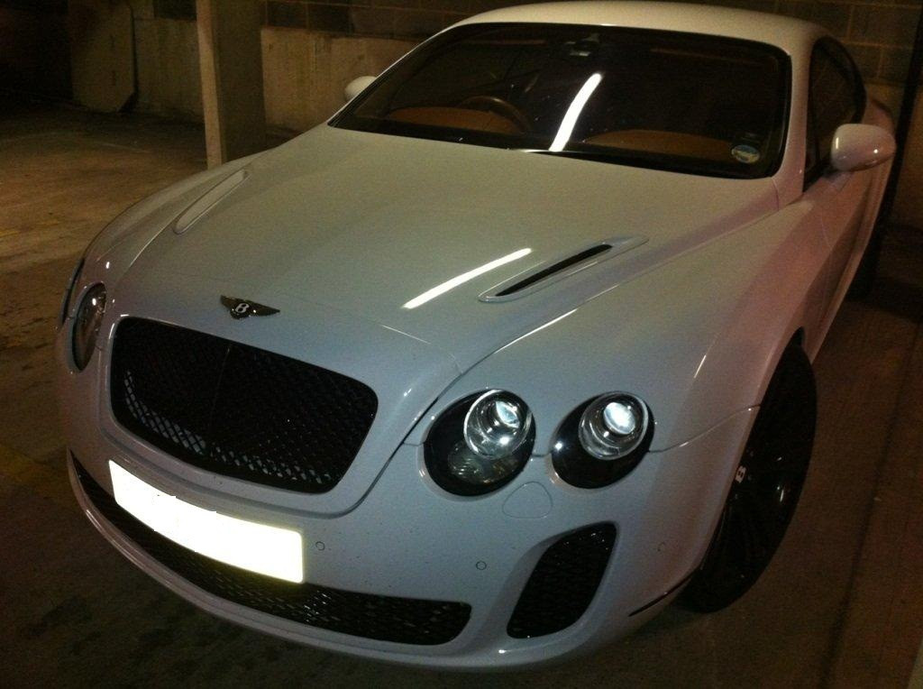 Bentley Gt Supersport Body Kit Conversion 2012 Spec