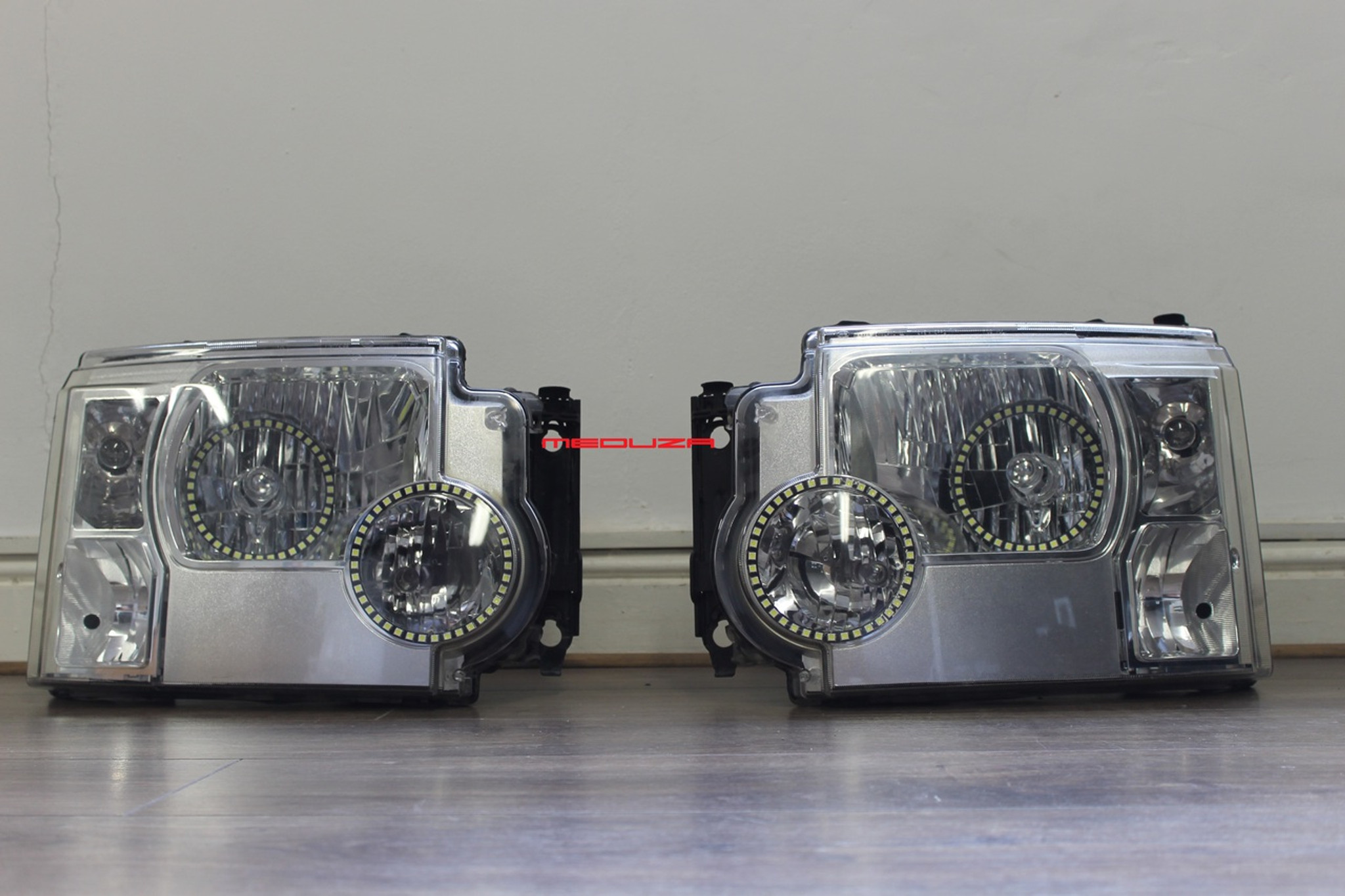 Land Rover Discovery 3 Headlights Used Converted 2012 Spec