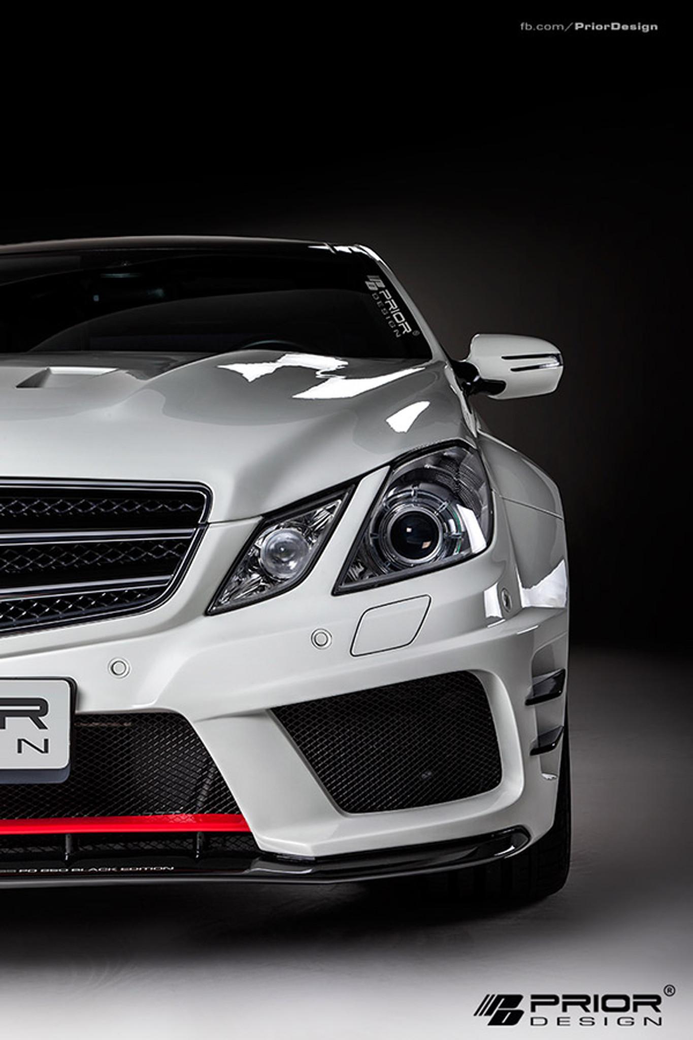 Mercedes E Class Coupe C207 Black Edition Prior Design