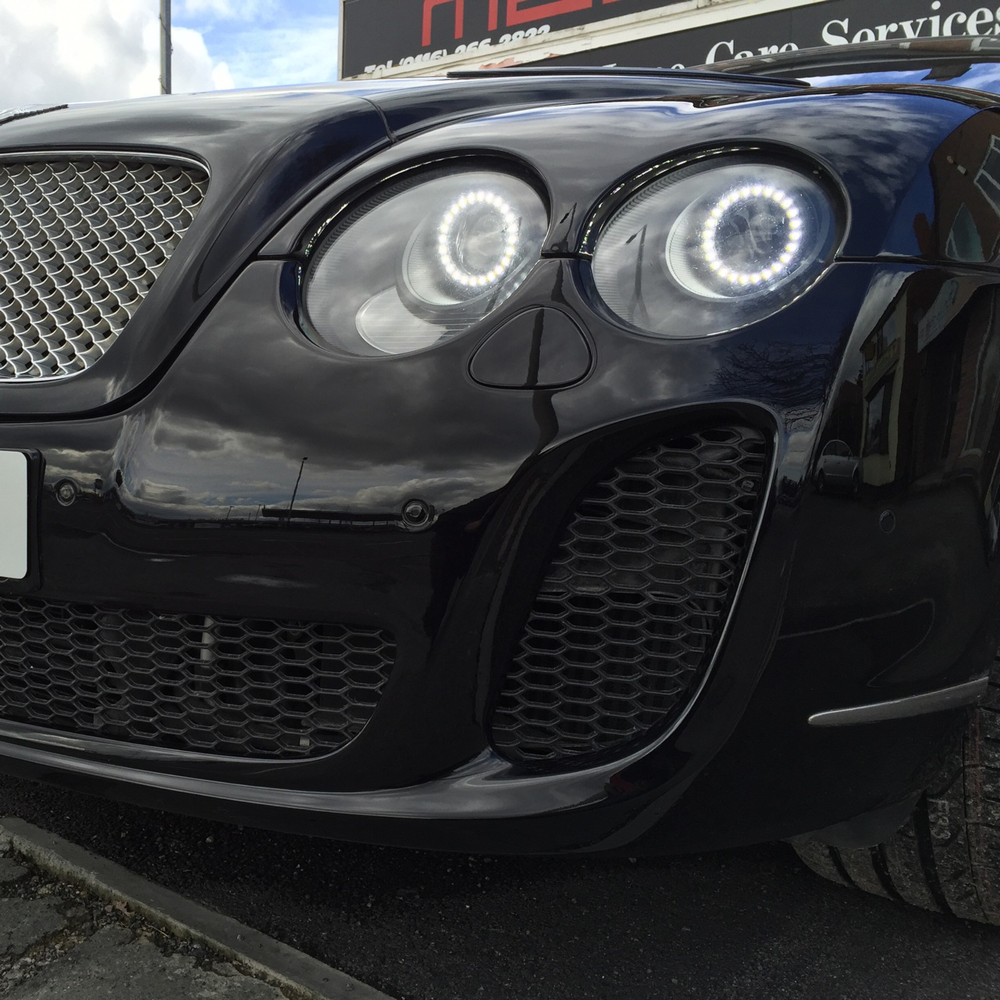 Bentley Continental GT/GTC Supersport Conversion Bodykit