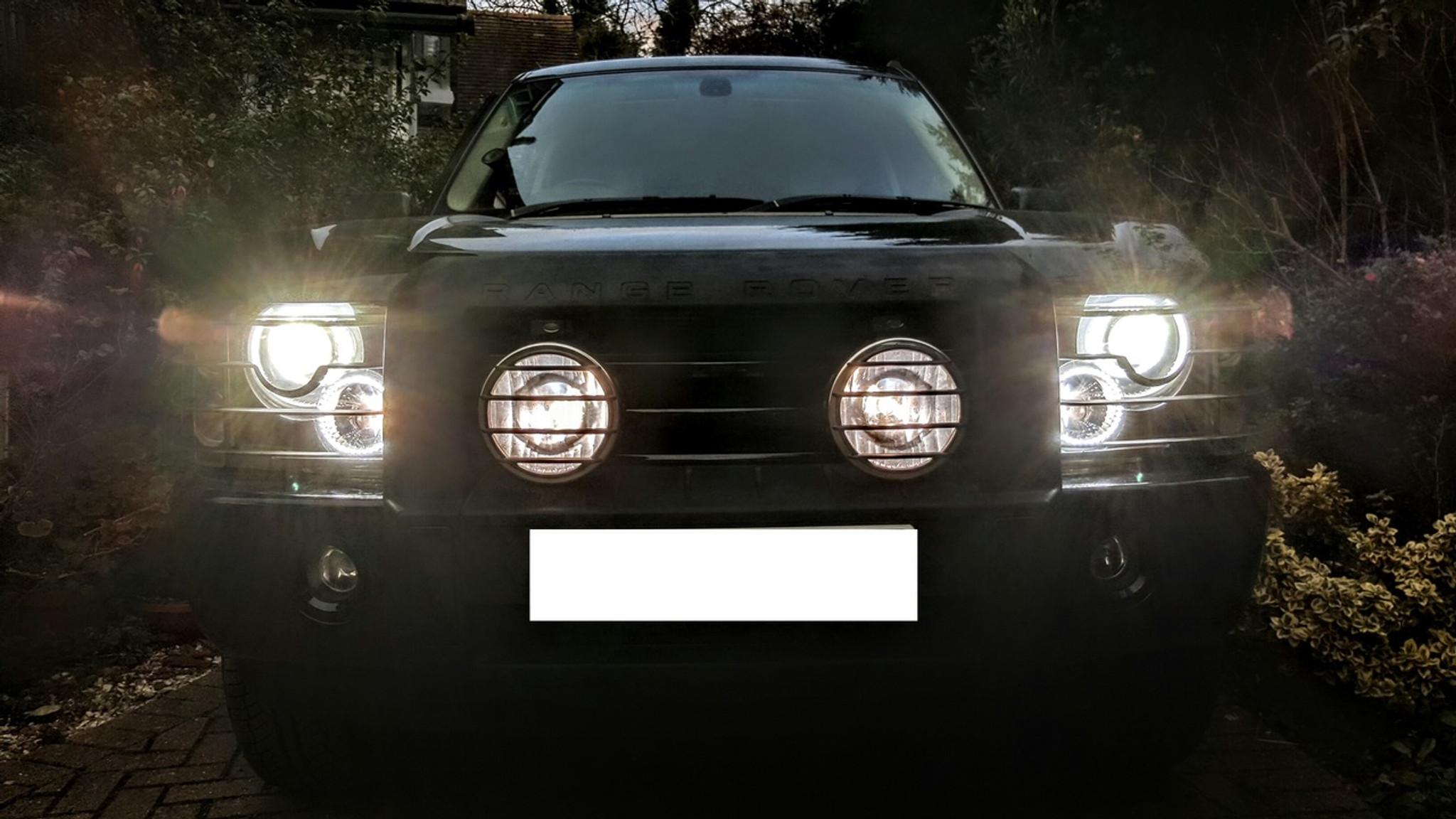 Range Rover Headlight Conversion To Led Spec 2002 2004