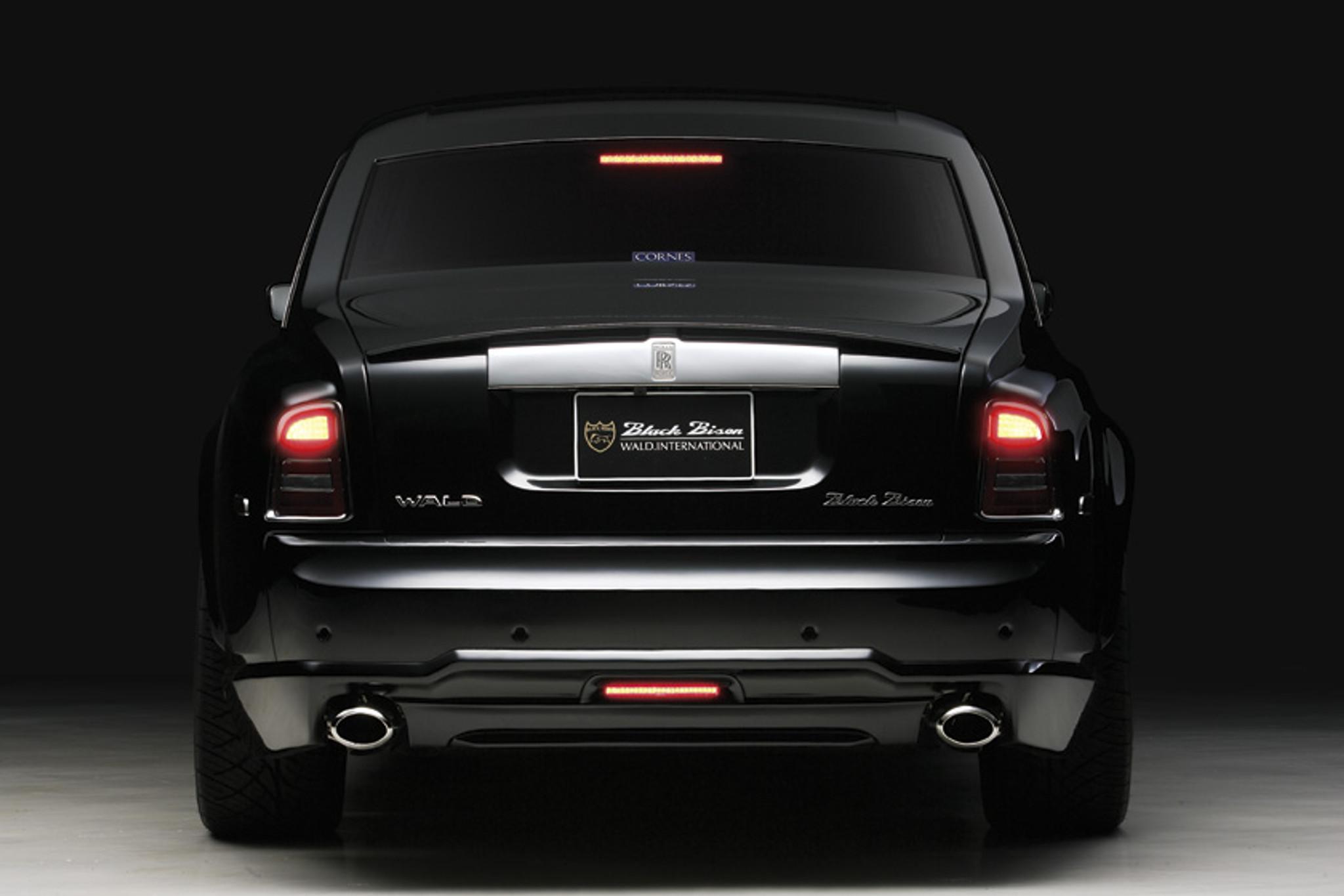 Rolls Royce Phantom Sports Line Black Bison Edition Body