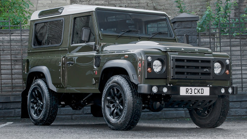Chelsea Truck Co. Land Rover Defender 90 Front Bumper with Lights