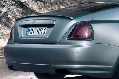 NOVITEC SPOFEC Rear Spoiler Lip Rolls Royce Wraith