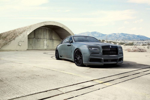 "NOVITEC ""Overdose"" Widebody Conversion for Rolls Royce Wraith"
