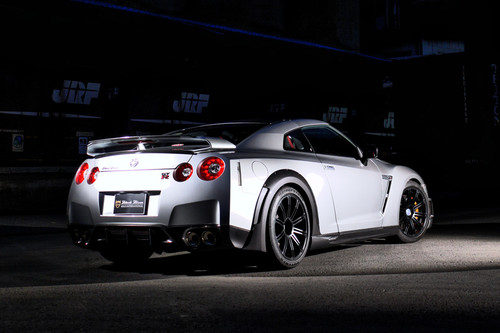 Nissan GT-R R35 Sports Line Black Bison Edition Wald Body Kit
