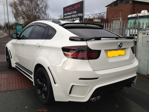 Bmw X6 Meduza Aerodynamic Body Kit Stage 1 Conversion