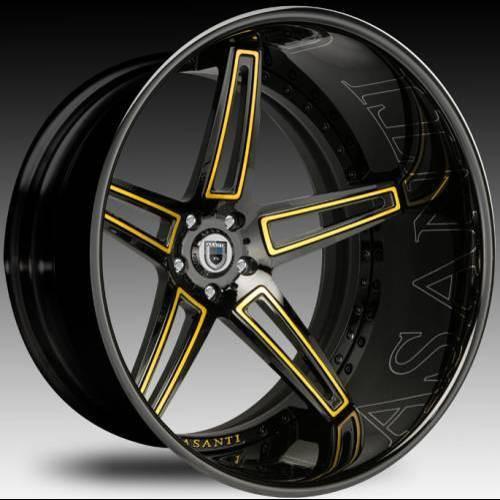 """Asanti Alloy Wheels CX-506 24"""""""