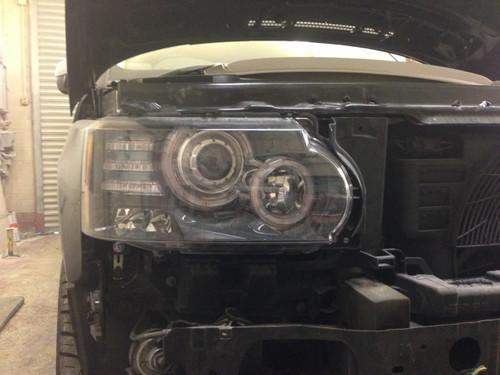 Range Rover Vogue 2003-2009 2013 Headlight Upgrade Genuine Landrover Parts Facelift