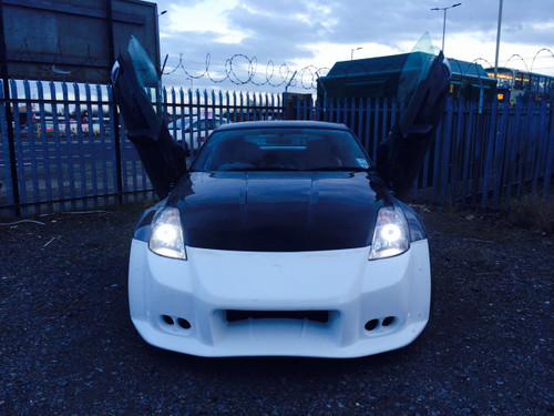 Nissan 350Z LED Headlight Conversion