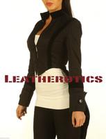 Ladies Tailcoat Gothic Vintage Costume pic 2