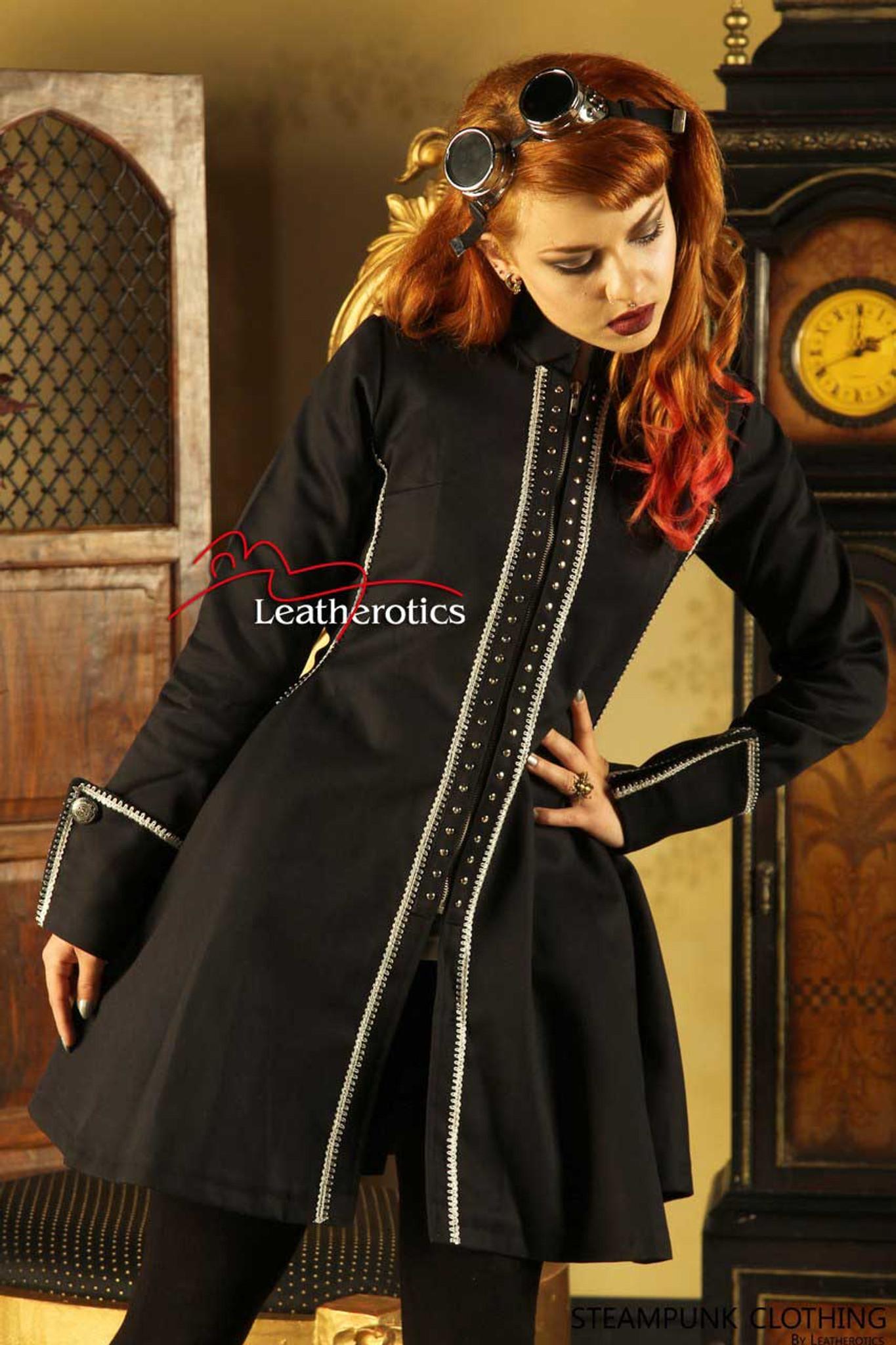 steampunk clothing | victorian jacket top | steampunk ...  steampunk cloth...