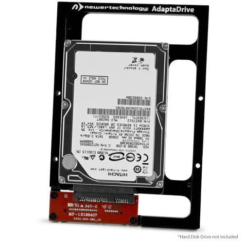 NewerTech AdaptaDrive, Install any size 2.5 inch SATA Drive or SSD to 3.5 inch SATA Bay