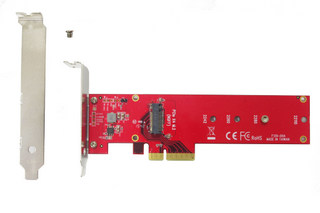 Lycom DT-129, PCIe 3.0 x4 3.3V5A Host Adapter for PCIe-NVMe M.2 110mm SSD (DT-129)