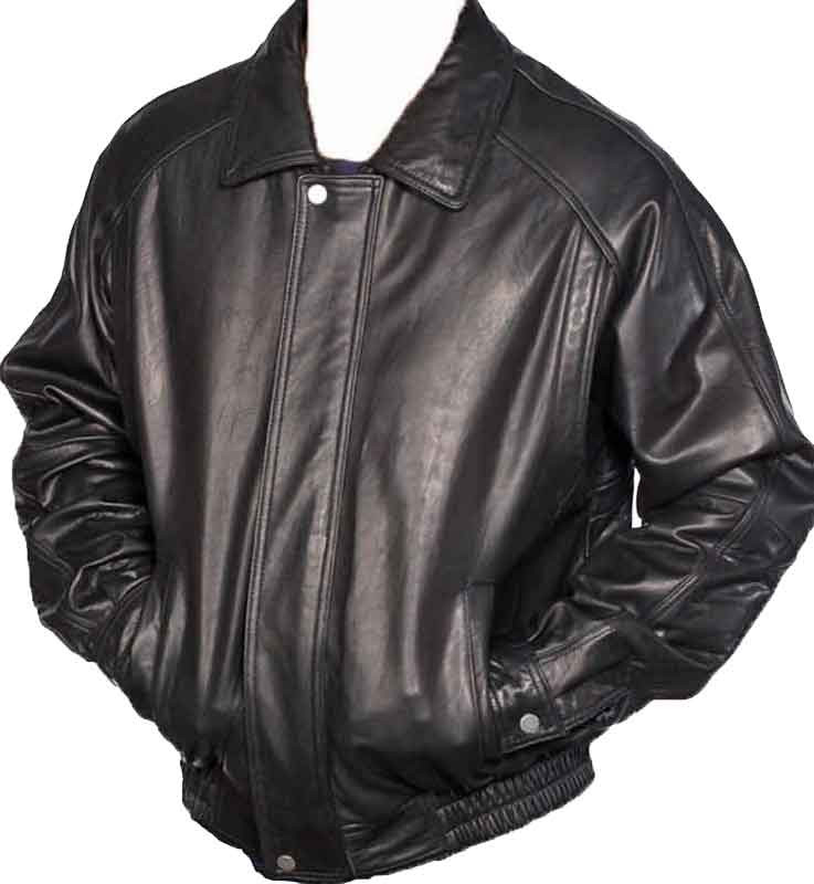 Black Leather Jacket - Lambskin