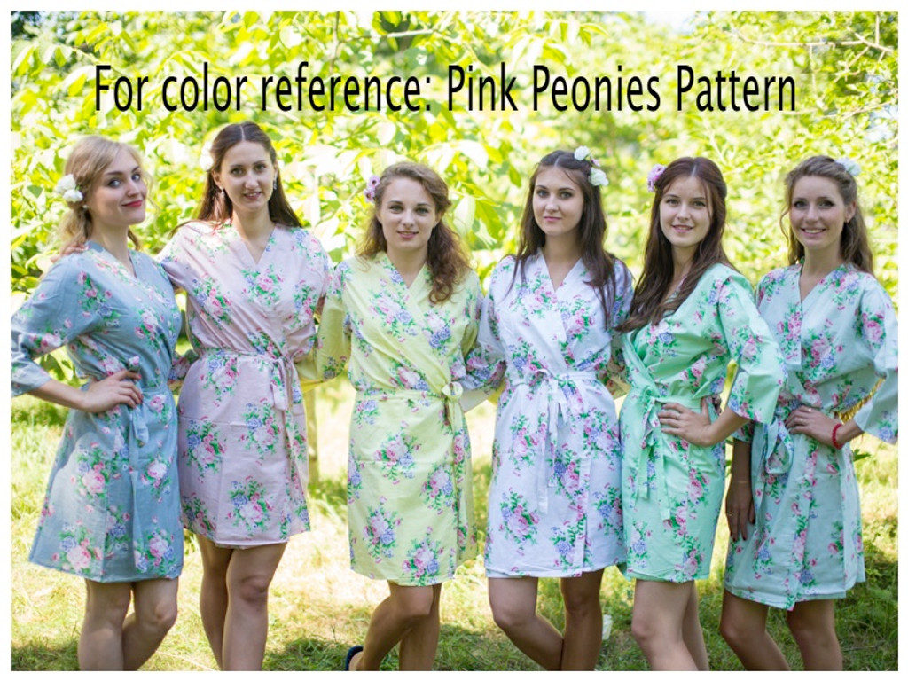"""""""Sun and Sand"""" Beach Tunic in Pink Peonies pattern"""