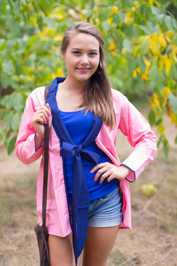"""""""Bow and Me"""" Kimono jacket in Plain and Simple pattern"""