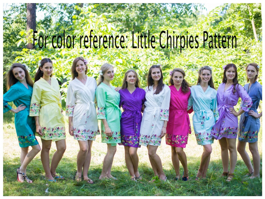 Little Chirpies pattern