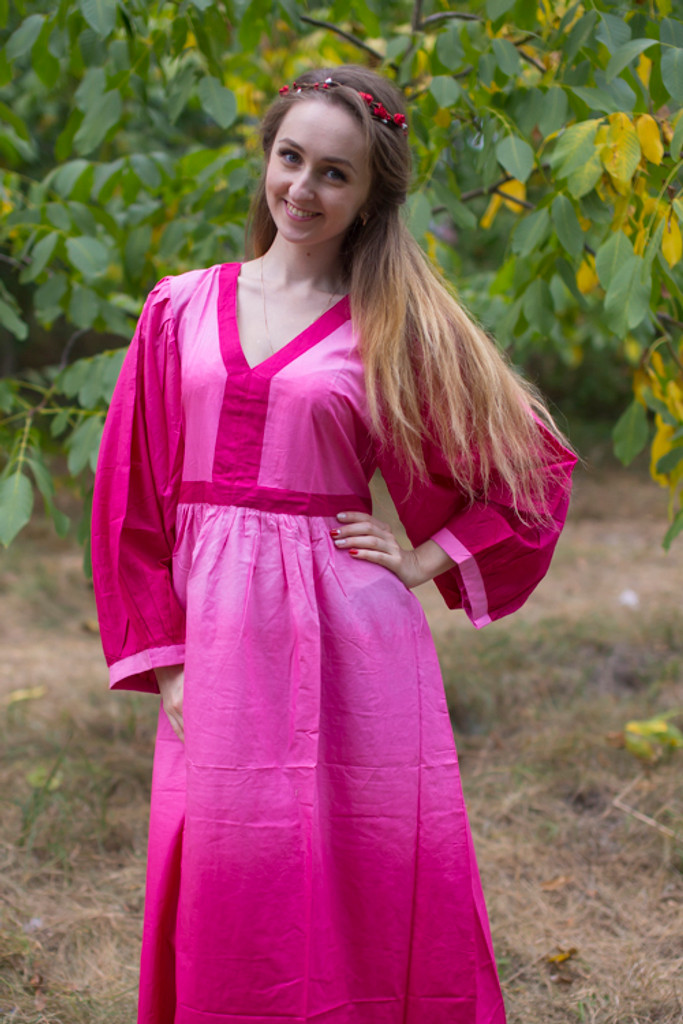"""My Peasant Dress"" kaftan in Ombre TieDye pattern"